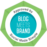blog meets brand badge